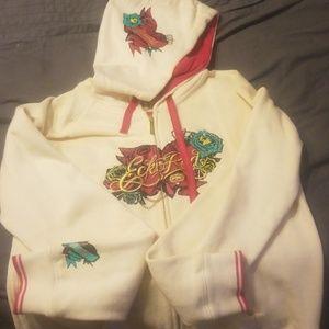 Ecko Red zip up hoodie